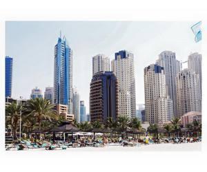 Dubai, top, and dream city image