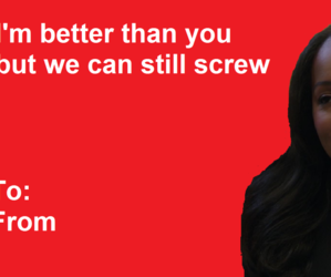 funny, post, and valentines card image