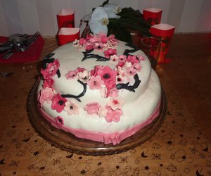 asian, birthday cake, and cake image