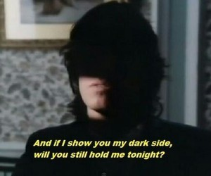 quotes, Pink Floyd, and dark side image