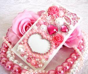 kawaii, case, and pink image