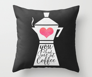 coffee, society6, and love image