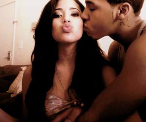 couple, kiss, and jinsu image