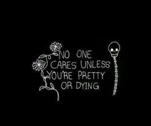 pretty, sad, and quotes image