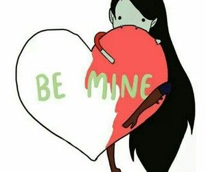 marceline, adventure time, and be mine image