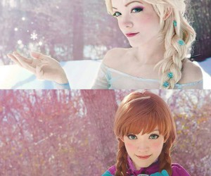 frozen, cosplay, and disney image