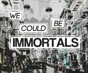 fall out boy, immortals, and FOB image