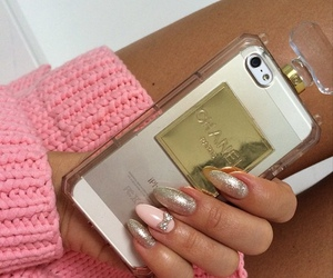 chanel, pink, and jumper image