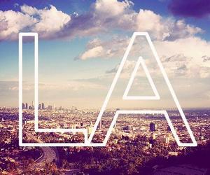 la, city, and los angeles image