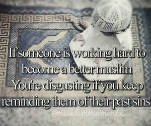 islam, working hard, and muslim image