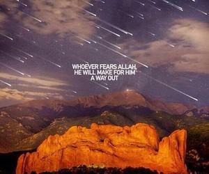 allah, fear, and muslim image
