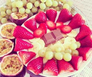 fruit, chocolate, and food image