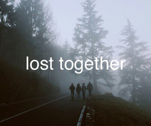 grunge, lost, and together image