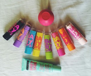 baby lips, eos, and lips image