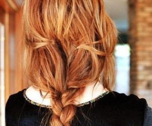 beauty, ginger, and hair image