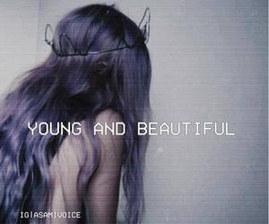 beautiful, young, and grunge image