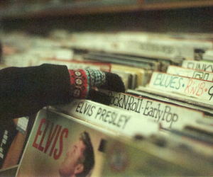 music, vintage, and elvis image