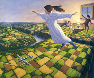 art, fly, and illusion image