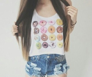 clothes, donuts, and fashion image