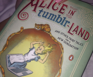 alice, amazing, and book image