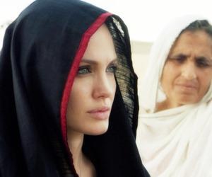 Angelina Jolie, hijab, and islam image
