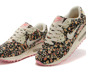 flowers, fashion, and nike image