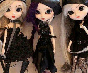 in love, cute, and rock'n doll image