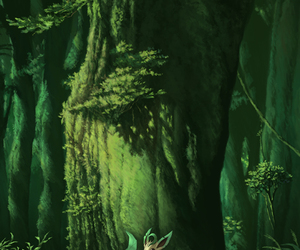pokemon, leafeon, and forest image