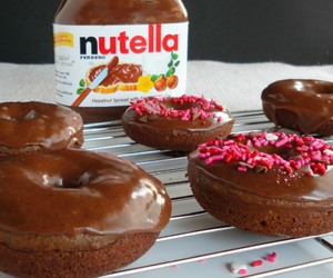 nutella and food image