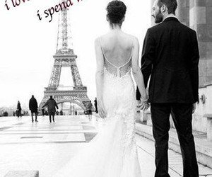 cute couple, wedding, and paris image