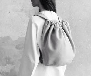 bag, fashion, and black and white image