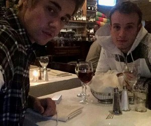 justin bieber and ryan butler image
