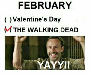 the walking dead, february, and rick grimes image