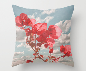 pillow, flower prints, and cute pillows image