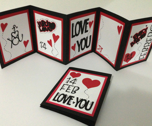 love, card, and heart image
