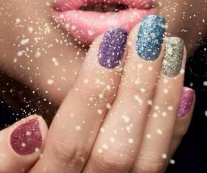 nails, lips, and beauty image