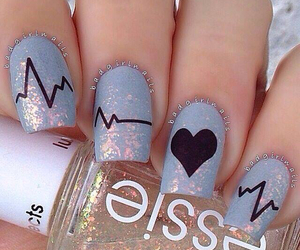 electro, glitter, and heart image