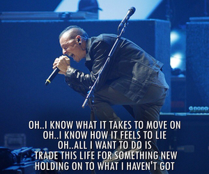 Lyrics and linkin park image