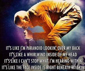 Lyrics, linkin park, and music image