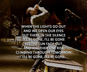 i'll be gone, Lyrics, and linkin park image