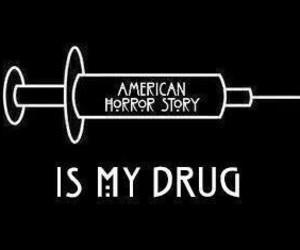 ahs, drug, and evan peters image