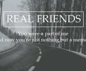 friends and real image