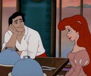 ariel, disney, and eric image