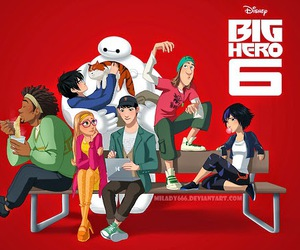 big hero 6 and baymax image