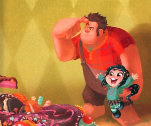 disney and wreck it ralph image