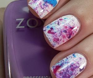 nail, purple, and perfect image