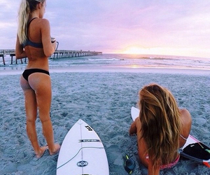 amigas, awesome, and beach image