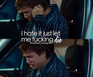 the fault in our stars, tfios, and die image