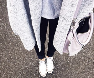 classy, street style, and coat image