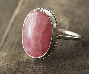 ring, pink, and silver image